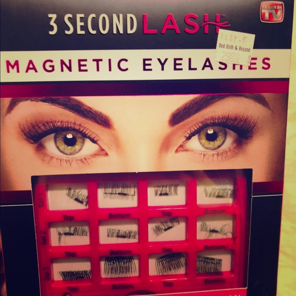 79f1bfdc037 3 second lash Makeup   Magnetic Lashes As Seen On Tv   Poshmark